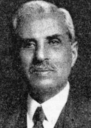 Rev. Khachadoor G. Bénnéyan, President 1940-1941 & 1942-1944
