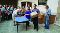 Relief Aid Distribution