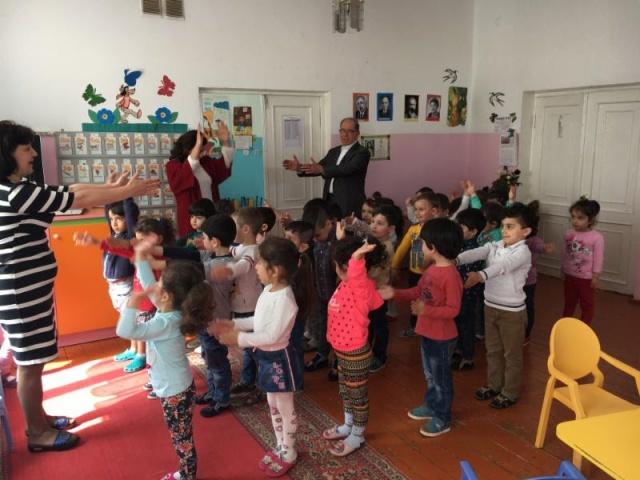Khanjian Visiting Kindergarten