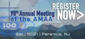 98th Annual Meeting of the AMAA - Register Now